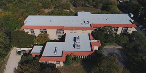 Case Study: Roof Repair Projects Timberhill Villa